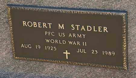 STADLER, ROBERT M - Richland County, Ohio | ROBERT M STADLER - Ohio Gravestone Photos