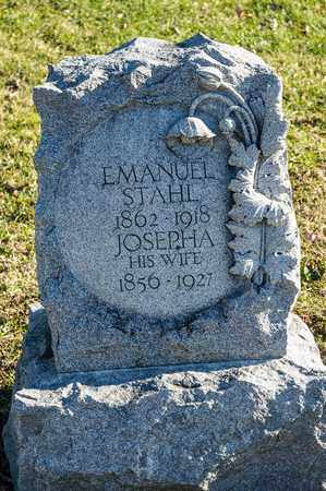 STAHL, EMANUEL - Richland County, Ohio | EMANUEL STAHL - Ohio Gravestone Photos