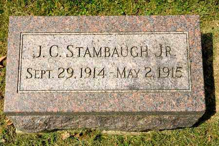 STAMBAUGH JR, J C - Richland County, Ohio | J C STAMBAUGH JR - Ohio Gravestone Photos