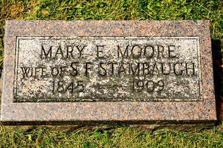 STAMBAUGH, MARY E - Richland County, Ohio | MARY E STAMBAUGH - Ohio Gravestone Photos