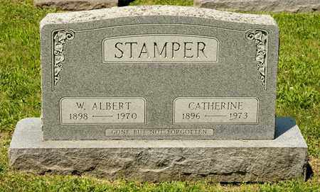 STAMPER, W ALBERT - Richland County, Ohio | W ALBERT STAMPER - Ohio Gravestone Photos