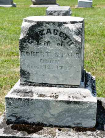 STARR, ELIZABETH - Richland County, Ohio | ELIZABETH STARR - Ohio Gravestone Photos