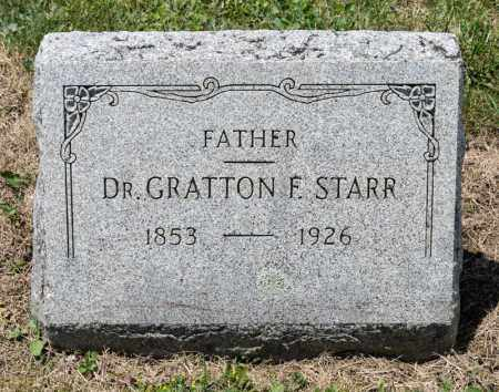 STARR, GRATTON F - Richland County, Ohio | GRATTON F STARR - Ohio Gravestone Photos
