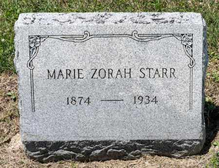 STARR, MARIE - Richland County, Ohio | MARIE STARR - Ohio Gravestone Photos