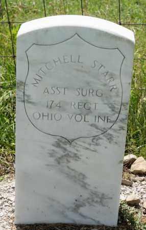 STARR, MITCHELL - Richland County, Ohio   MITCHELL STARR - Ohio Gravestone Photos