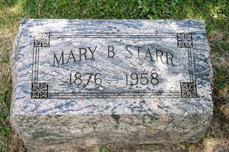 STARR, MARY B - Richland County, Ohio | MARY B STARR - Ohio Gravestone Photos