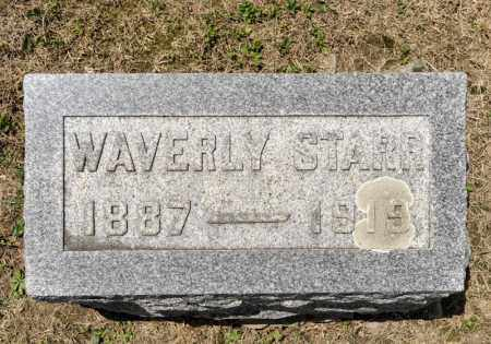STARR, WAVERLY - Richland County, Ohio | WAVERLY STARR - Ohio Gravestone Photos