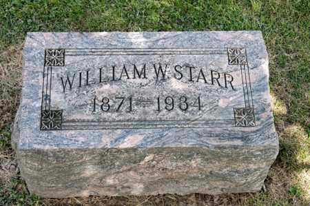 STARR, WILLIAM W - Richland County, Ohio | WILLIAM W STARR - Ohio Gravestone Photos