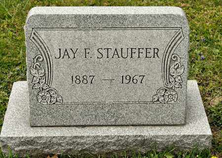 STAUFFER, JAY F - Richland County, Ohio | JAY F STAUFFER - Ohio Gravestone Photos