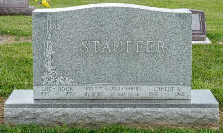 STAUFFER, ERNEST A - Richland County, Ohio | ERNEST A STAUFFER - Ohio Gravestone Photos
