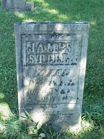STEEL, JAMES - Richland County, Ohio | JAMES STEEL - Ohio Gravestone Photos