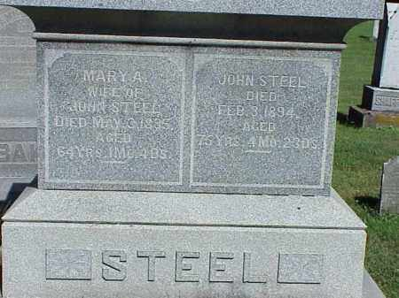 STEEL, JOHN - Richland County, Ohio | JOHN STEEL - Ohio Gravestone Photos