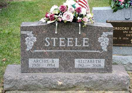 STEELE, ELIZABETH - Richland County, Ohio | ELIZABETH STEELE - Ohio Gravestone Photos