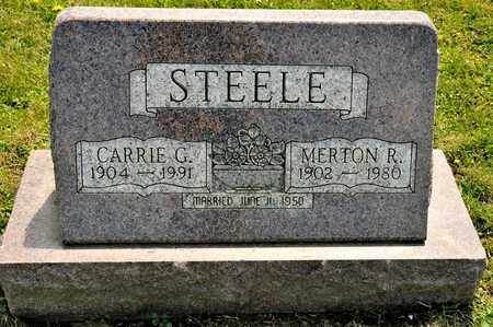 STEELE, MERTON R - Richland County, Ohio | MERTON R STEELE - Ohio Gravestone Photos