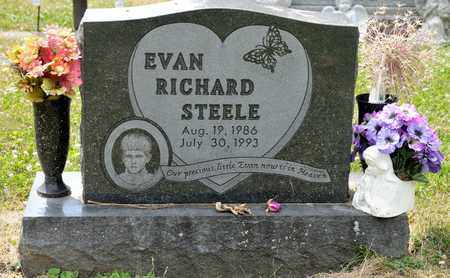 STEELE, EVAN RICHARD - Richland County, Ohio | EVAN RICHARD STEELE - Ohio Gravestone Photos
