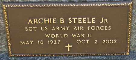 STEELE JR, ARCHIE B - Richland County, Ohio | ARCHIE B STEELE JR - Ohio Gravestone Photos