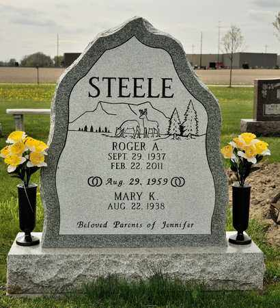 STEELE, ROGER A - Richland County, Ohio | ROGER A STEELE - Ohio Gravestone Photos