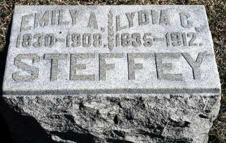 STEFFEY, EMILY A - Richland County, Ohio | EMILY A STEFFEY - Ohio Gravestone Photos