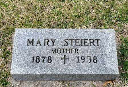 STEIERT, MARY - Richland County, Ohio | MARY STEIERT - Ohio Gravestone Photos