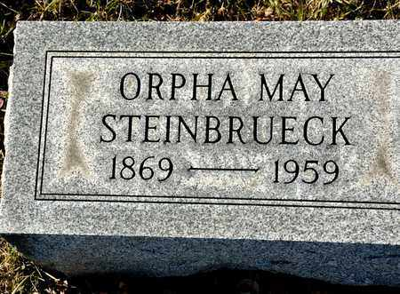 SHERMAN STEINBRUECK, ORPHA MAY - Richland County, Ohio | ORPHA MAY SHERMAN STEINBRUECK - Ohio Gravestone Photos