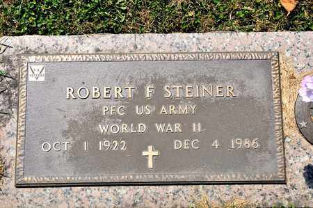 STEINER, ROBERT F - Richland County, Ohio | ROBERT F STEINER - Ohio Gravestone Photos