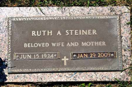 STEINER, RUTH A - Richland County, Ohio | RUTH A STEINER - Ohio Gravestone Photos