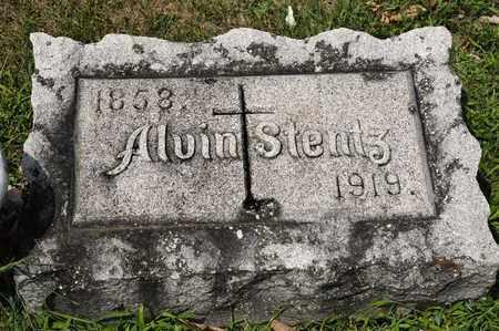 STENTZ, ALVIN - Richland County, Ohio | ALVIN STENTZ - Ohio Gravestone Photos