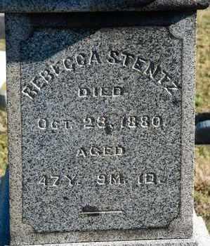 STENTZ, REBECCA - Richland County, Ohio | REBECCA STENTZ - Ohio Gravestone Photos
