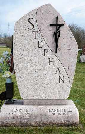 STEPHAN, HENRY E - Richland County, Ohio | HENRY E STEPHAN - Ohio Gravestone Photos