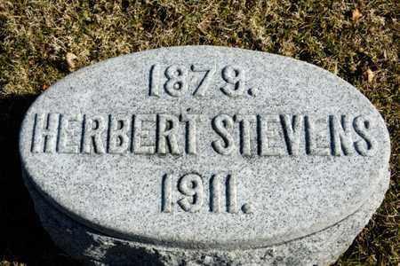 STEVENS, HERBERT - Richland County, Ohio | HERBERT STEVENS - Ohio Gravestone Photos