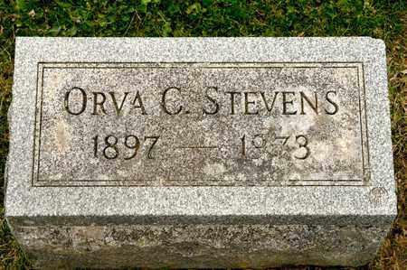 STEVENS, ORVA C - Richland County, Ohio | ORVA C STEVENS - Ohio Gravestone Photos