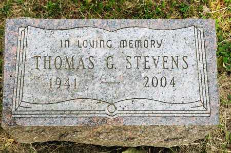 STEVENS, THOMAS G - Richland County, Ohio | THOMAS G STEVENS - Ohio Gravestone Photos