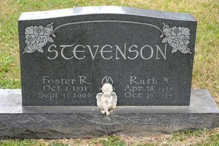 STEVENSON, FOSTER R - Richland County, Ohio | FOSTER R STEVENSON - Ohio Gravestone Photos