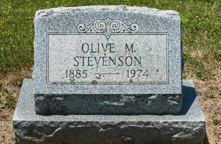 STEVENSON, OLIVE M - Richland County, Ohio | OLIVE M STEVENSON - Ohio Gravestone Photos