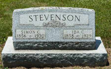 STEVENSON, SIMON C - Richland County, Ohio | SIMON C STEVENSON - Ohio Gravestone Photos