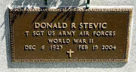 STEVIC, DONALD R - Richland County, Ohio | DONALD R STEVIC - Ohio Gravestone Photos