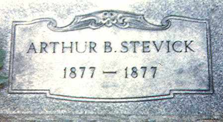 STEVICK, ARTHUR B. - Richland County, Ohio | ARTHUR B. STEVICK - Ohio Gravestone Photos