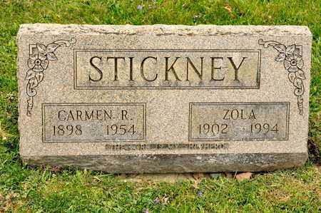 STICKNEY, ZOLA - Richland County, Ohio | ZOLA STICKNEY - Ohio Gravestone Photos