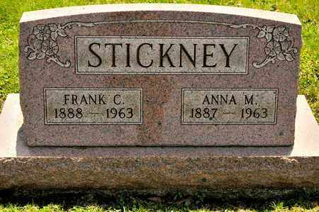 STICKNEY, ANNA M - Richland County, Ohio | ANNA M STICKNEY - Ohio Gravestone Photos