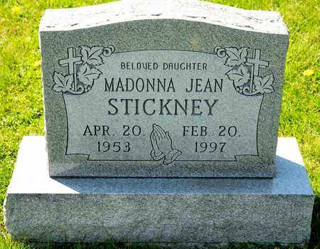 STICKNEY, MADONNA JEAN - Richland County, Ohio | MADONNA JEAN STICKNEY - Ohio Gravestone Photos