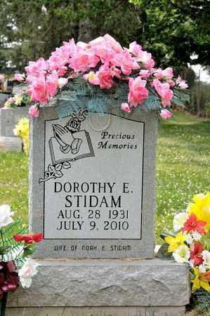 STIDAM, DOROTHY E - Richland County, Ohio | DOROTHY E STIDAM - Ohio Gravestone Photos