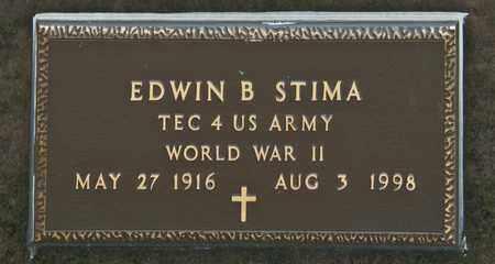 STIMA, EDWIN B - Richland County, Ohio | EDWIN B STIMA - Ohio Gravestone Photos