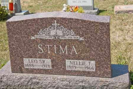 STIMA, NELLIE T - Richland County, Ohio | NELLIE T STIMA - Ohio Gravestone Photos