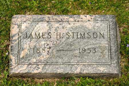 STIMSON, JAMES H - Richland County, Ohio | JAMES H STIMSON - Ohio Gravestone Photos