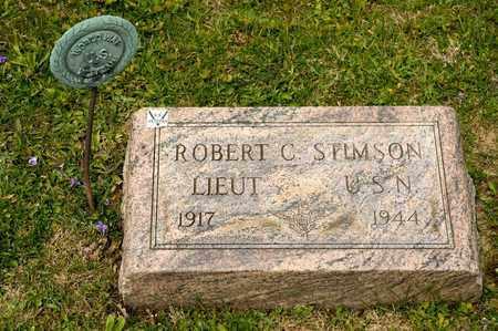 STIMSON, ROBERT C - Richland County, Ohio | ROBERT C STIMSON - Ohio Gravestone Photos