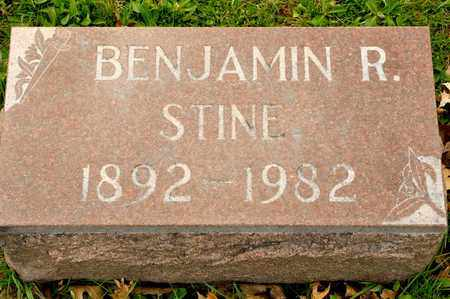 STINE, BENJAMIN R - Richland County, Ohio   BENJAMIN R STINE - Ohio Gravestone Photos