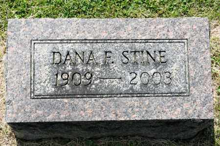 STINE, DANA F - Richland County, Ohio | DANA F STINE - Ohio Gravestone Photos