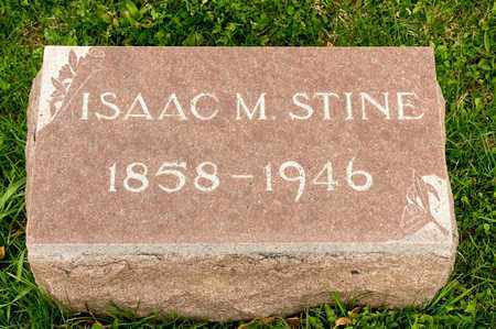 STINE, ISAAC M - Richland County, Ohio | ISAAC M STINE - Ohio Gravestone Photos