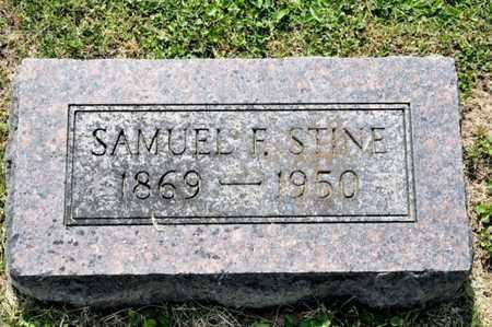 STINE, SAMUEL F - Richland County, Ohio | SAMUEL F STINE - Ohio Gravestone Photos