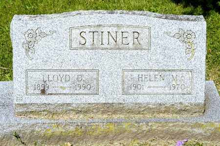 STINER, LLOYD D - Richland County, Ohio | LLOYD D STINER - Ohio Gravestone Photos
